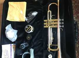 HERCO Trumpet with Wiseman case
