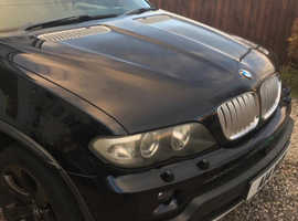 BMW X5, 2006 (06) Black Estate, Automatic Diesel, 138,000 miles