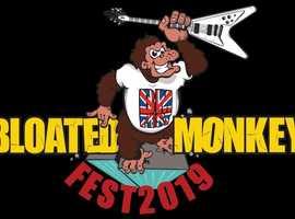 BLOATED MONKEY MUSIC FEST AUG 17 2019