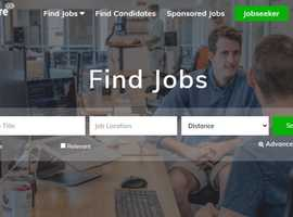Job website for Sale