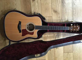 Taylor 410ce SLTD (2014) with Deluxe Hardcase and ES2 pickup.