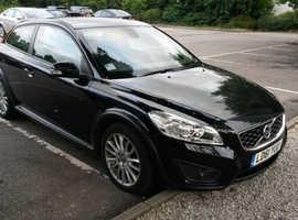 Volvo C30, 2011 (61) Black Hatchback, Automatic Diesel, 95,000 miles