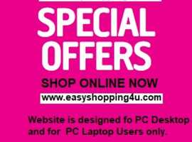 *** CHECK OUT GREAT DEALS & DISCOUNT OFFERS GALORE ONLINE  - SHOP ONLINE NOW ***