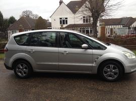 FORD S-MAX 2.0 TDCI 7 SEATER 2007 LEATHER INTERIOR YEARS MOT FULL SERVICE HISTORY A VERY CLEAN CAR