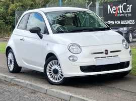 2013 Fiat 500 1.2 Pop Edition Very Low Miles, Gorgeous in Pearlescent White