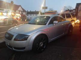 Audi TT, 2000 (W) Silver Coupe, Manual Petrol, 125,000 miles