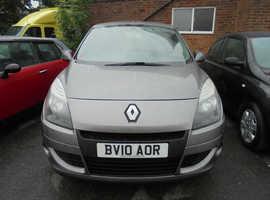 Renault Scenic, 2010 (10) Grey MPV, Cvt Petrol, 67,000 miles