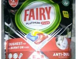Fairy Platinum Plus Dishwashing 28 Tablets