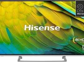 Hisense 55 inch TV 4K UHD