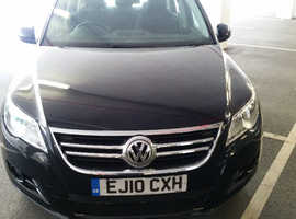 Volkswagen Tiguan, 2010 (10) Black Estate, Manual Diesel, 78,000 miles