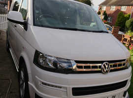 VW t5.1 campervan with awning