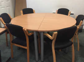 Tables and chairs for office