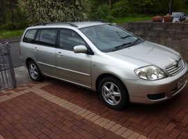 Toyota Corolla, 2005 (55) Silver Estate, Manual Petrol, 85,900 miles