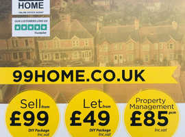 99Home the Online Estate Agent now operating in Medway & Swale.