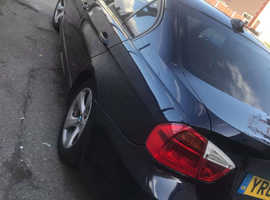 BMW 3 Series, 2008 (08) Black Saloon, Manual Diesel, 157,000 miles
