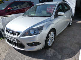 Ford Focus, 2009 (59) Silver Hatchback, Manual Petrol, 78,000 miles