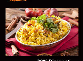 20% Discount On Takeaway Orders Over £20 | Al-Safa Grill
