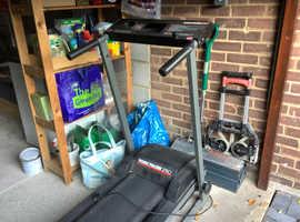 Knackered old treadmill
