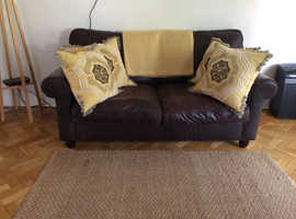 Laura Ashley Leather Sofa Bed