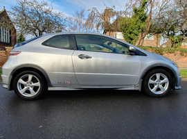 Honda Civic, 2009 (59) Silver Hatchback, Manual Petrol, 84,095 miles