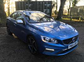 Volvo S60, 2014 (64) Blue Saloon, Manual Diesel, 125,000 miles