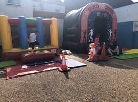 Bouncy castle party in Lowestoft