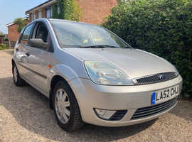 Ford FIESTA 1.4 GHIA LOW MILES JUST 51000 WITH FULL SERVICE HISTORY INC CAM BELT ,