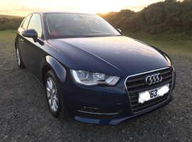 Audi A3, 2013 (63) Blue Hatchback, Manual Diesel, 40,800 miles