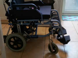 Wheelchair with power pack. - NOW REDUCED