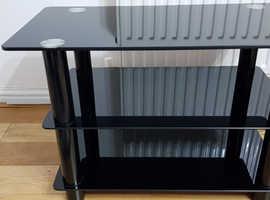AVF Glass TV stand Black *NEW*