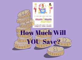 Mum2Mum Market the place for nearly new baby/children clothes, toys & equipment at FABULOUS PRICES