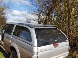 Mitsubishi L200 Hardtop back double cab