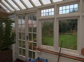 Conservatory, blinds & furniture