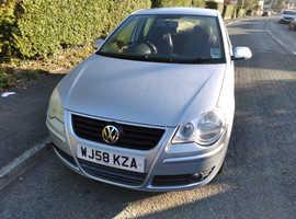 Volkswagen Polo, 2008 (58) Silver Hatchback, Manual Diesel, 43,381 miles