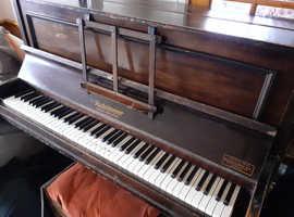 Preloved upright grand piano