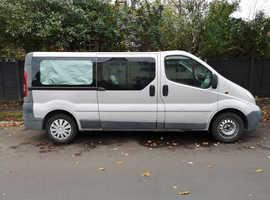 Vauxhall vivaro lwb crew cab