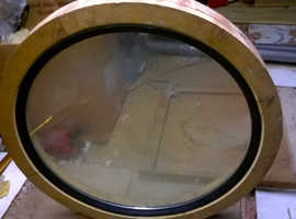 round window and frame heavy duty