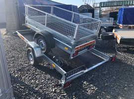 SMART CAR TRANSPORTER/ QUAD TRAILER SINGLE AXLE UNBRAKED 750kg