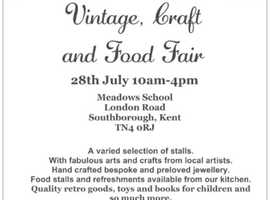 Southborough vintage, craft & food fair