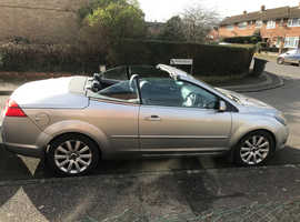 Ford Focus, 2009 (09) Silver Convertible, Manual Diesel, 98,087 miles