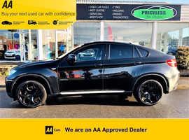 BMW X6, 2008 (58) Black Coupe, Automatic Diesel, 125,419 miles
