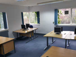 Serviced offices to let