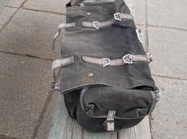 Old Carradice touring cycle bag.
