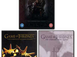 Game of Thrones series 1, 2 & 3