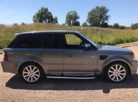 Land Rover Range Rover Sport, 2009 (59) Grey 4x4, Automatic Diesel, 120,000 miles