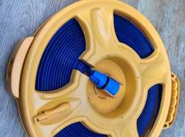 Brunner Food Grade 15m Flat Hose Reel