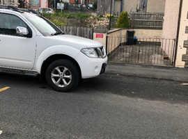Nissan Navara, 2014 (14) White 4x4, Manual Diesel, 115,000 miles