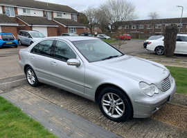 Mercedes C CLASS, 2002 (52) Silver Saloon, Automatic Petrol, 61,759 miles