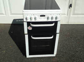 Electric Cooker . Bush BEDC50W . 50 cm wide
