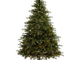 6ft Thetford Pre-lit artificial Christmas tree